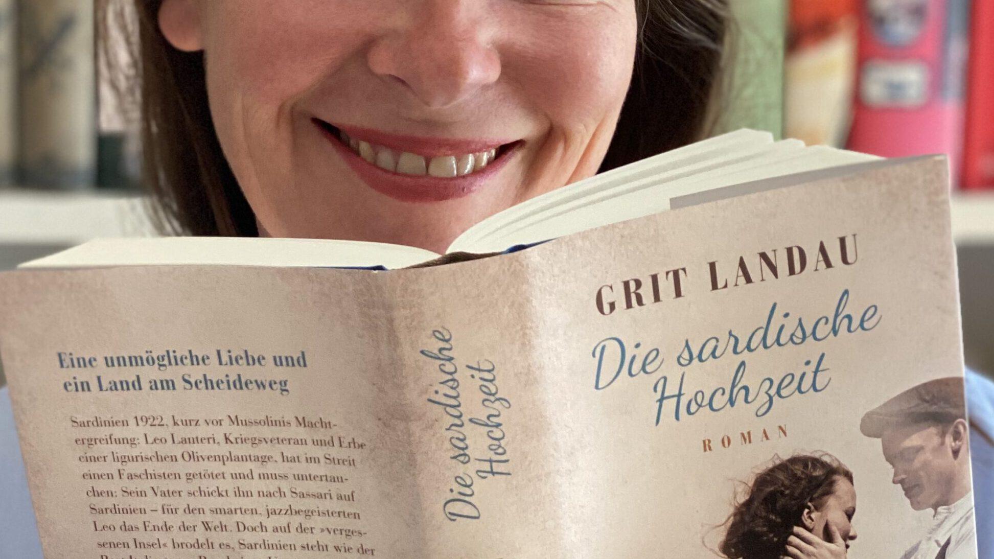 Grit Landau, Autorin