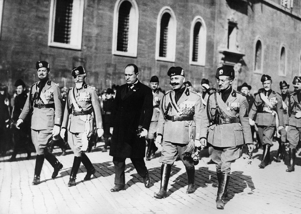 Mussolinis Marsch auf Rom
