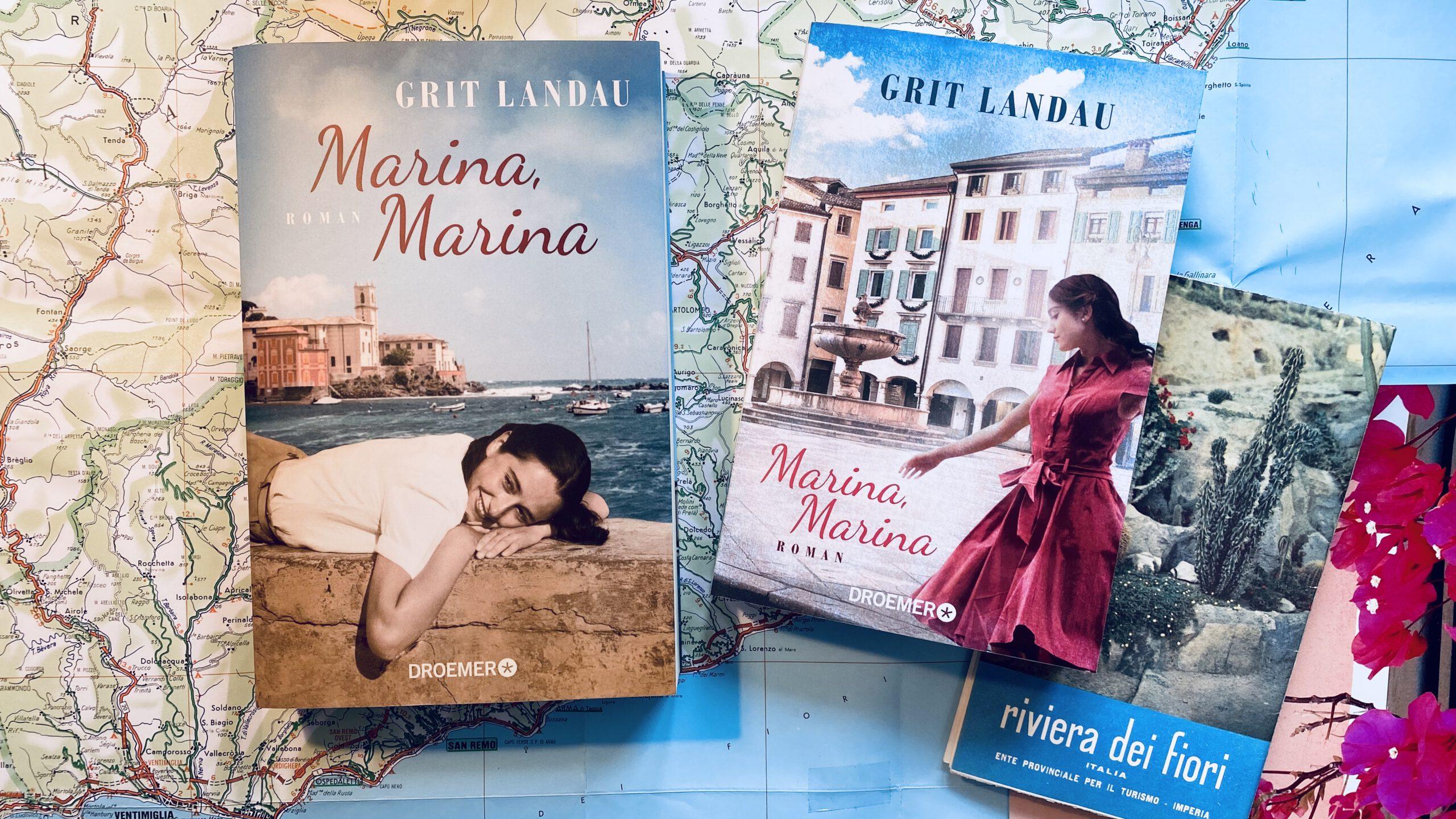 "Riviera-Roman ""Marina, Marina"" von Grit Landau (Droemer 2019)"